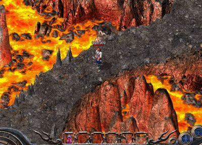 热血传奇龙卫山谷地图
